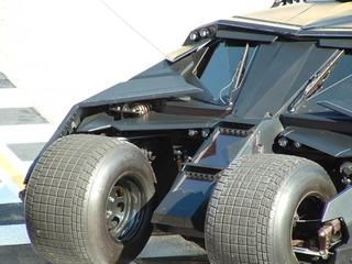 Batmobile with Hoosier Dirt Front Tires