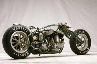 Motorcycle with Hoosier Tires