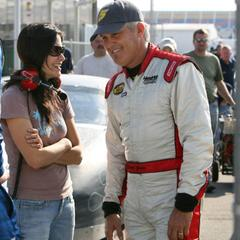 Talking with David Green at the Daytona test