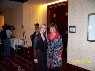 CARA Charities Event Me and Lyn St James