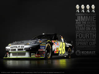 2009 Sprint Cup Series Champion Jimmie Johnson Pic 1