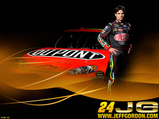 Jeff Gordon Dupont 09
