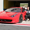 testing ferrari
