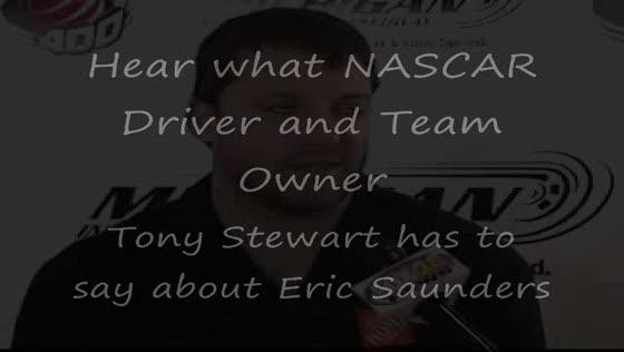 Tony Stewart - Eric Saunders