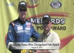 Craig Goess Wins Chicagoland Pole