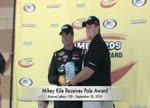 Mikey Kile Wins Pole at Kansas Speedway