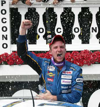 Robb Brent Takes First ARCA Victory at Pocono