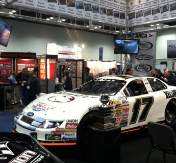 Winning Cars on Display at ARCA's IMIS Exhibit: Top Tour, Trucks, Snowball Champ All Represented