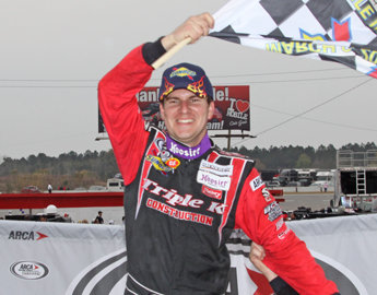 Hooray for heroes; Enfinger answers hometown fans; Post-race notes from ARCA Mobile 200