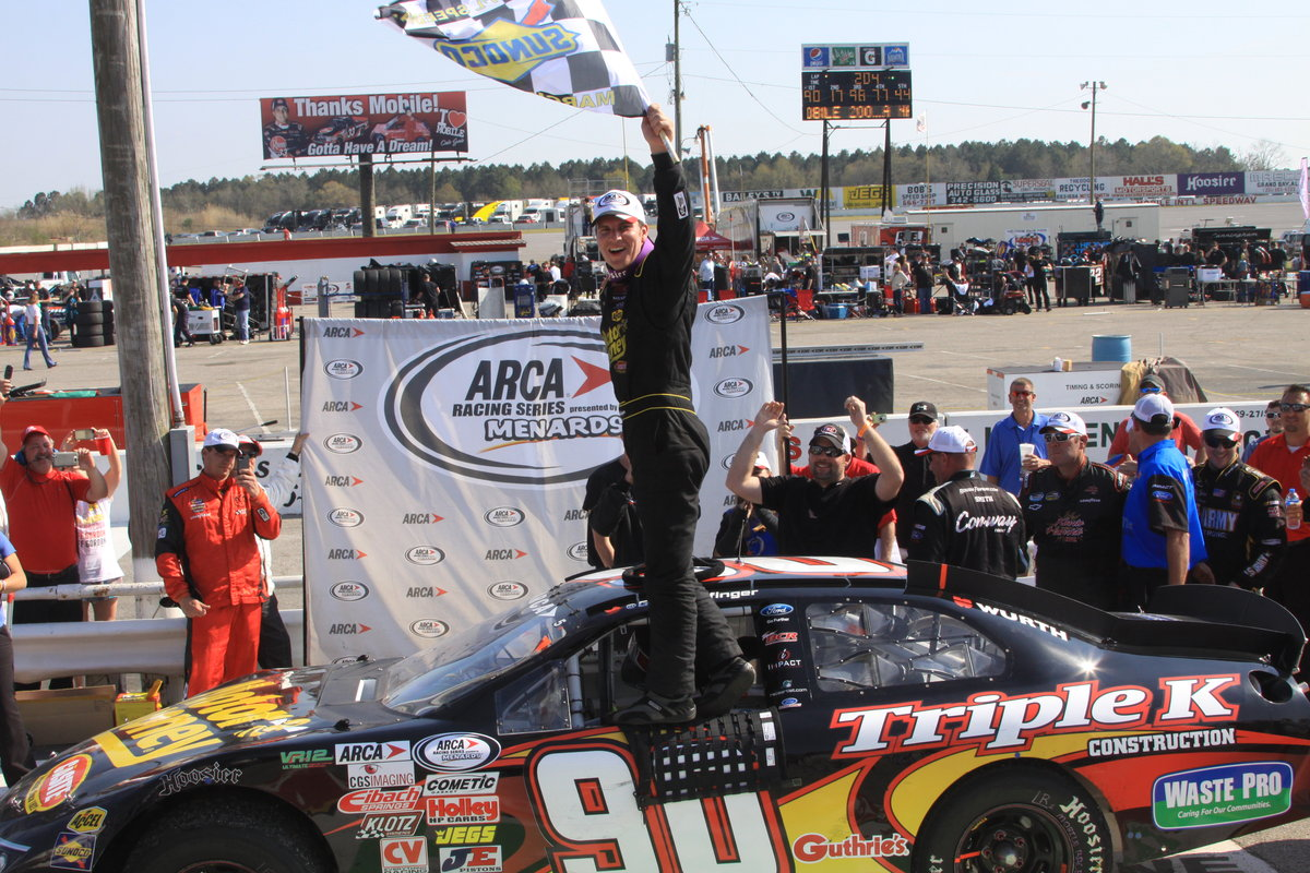 Enfinger wins ARCA Mobile 200 in dominating fashion