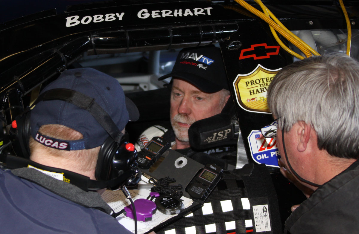 Gerhart to make career start 300 at Talladega; credits his success to an old friend