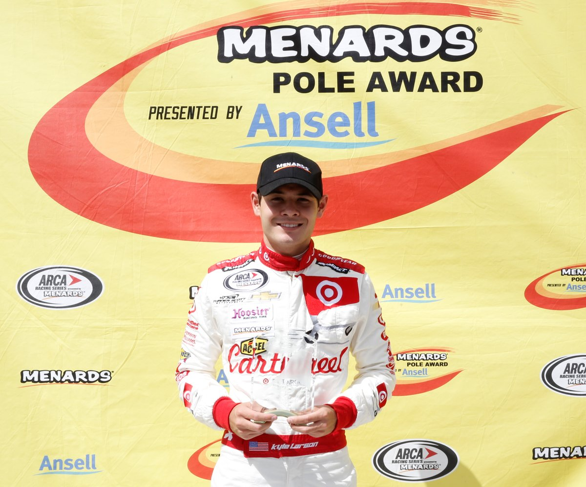 Field chasing NASCAR's Larson in Saturday's Pocono ARCA 200