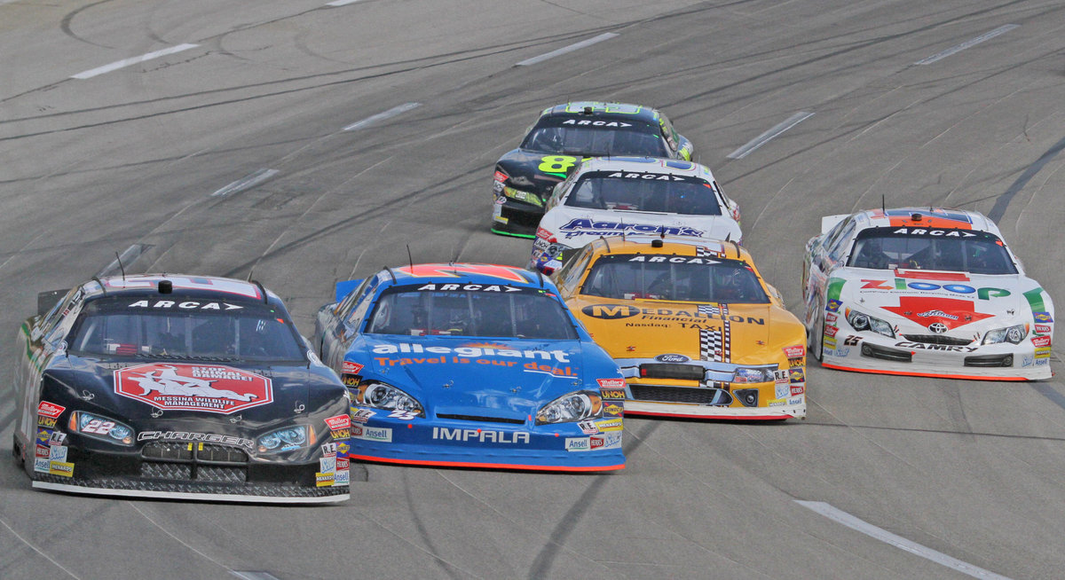 Live timing & scoring of today's open test at Kentucky here at ARCAracing.com