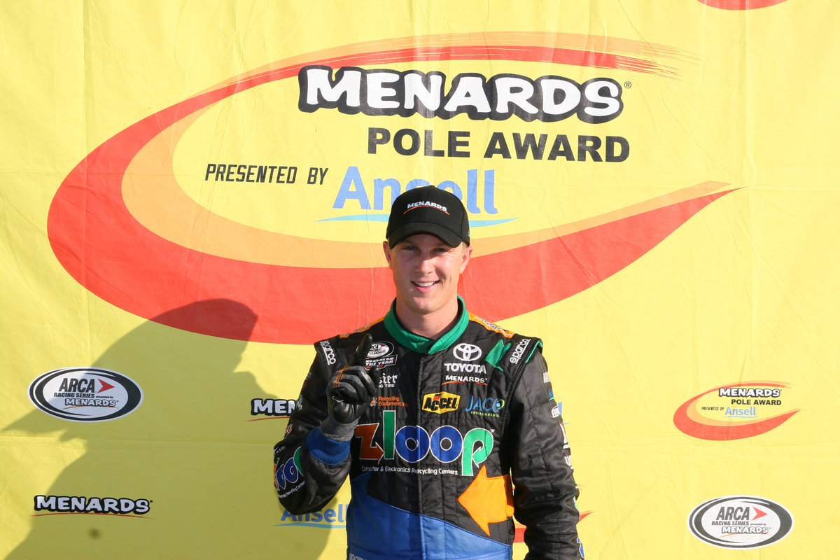 Boston wins pole for the ZLOOP 150