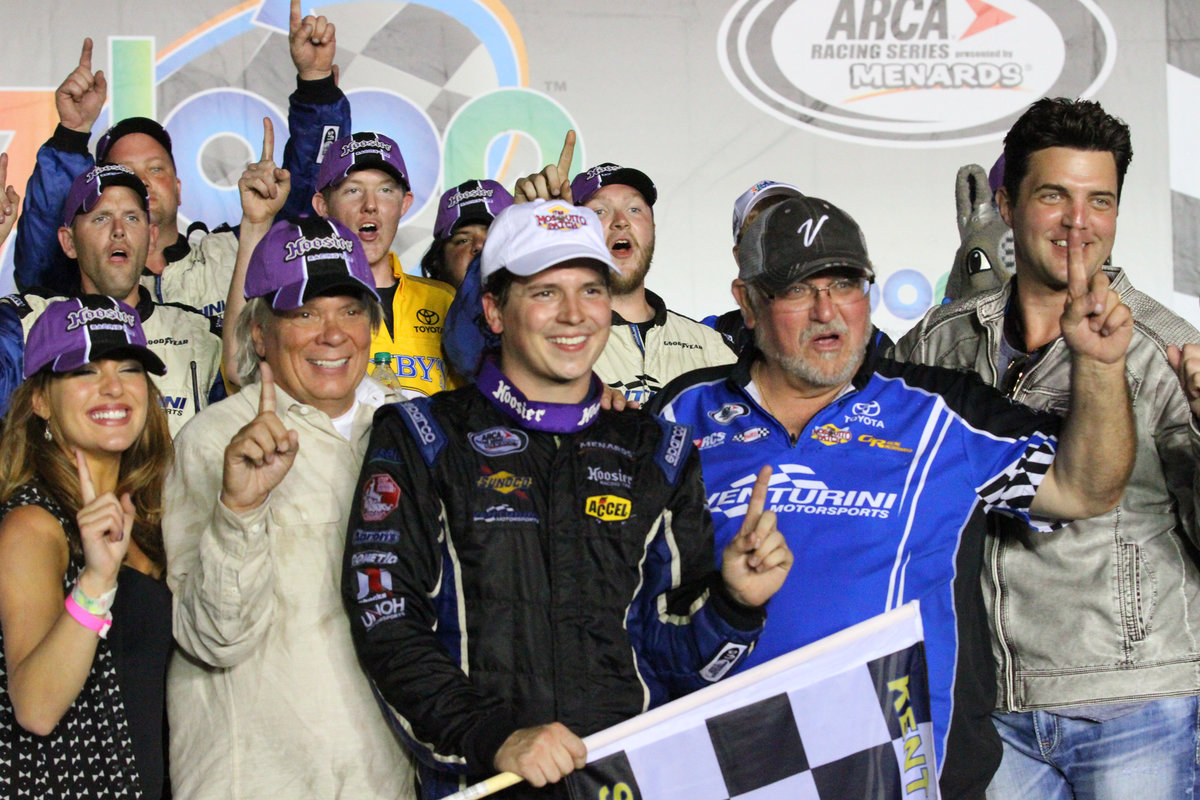 Poole takes Zaxby's Toyota to victory lane in Kentucky