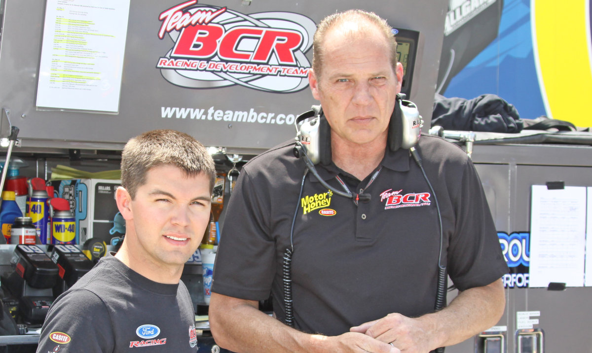 Evans, Team BCR reunite; ARCA 98.9 at Kansas Friday