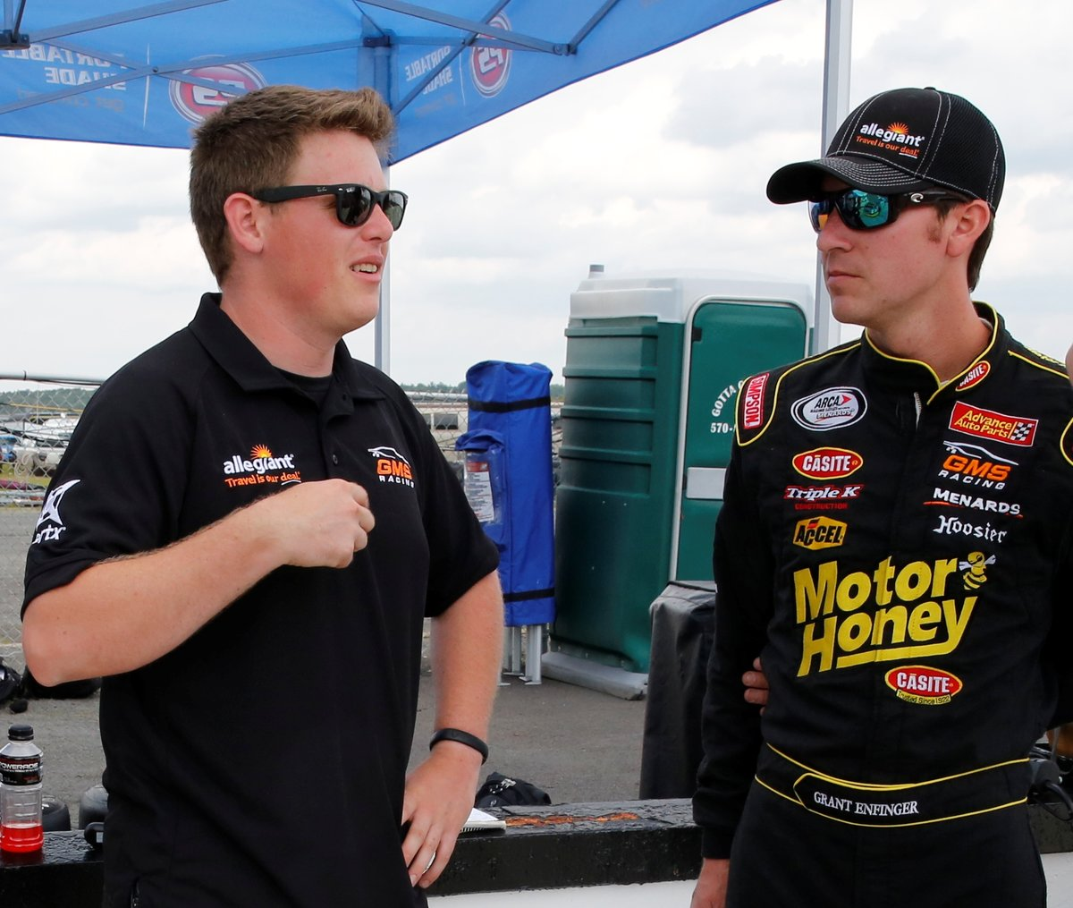 GMS Racing this week: Enfinger chasing championship, Gallagher back in ARCA car