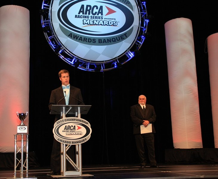 Special honors to be part of 2014 ARCA banquet celebration