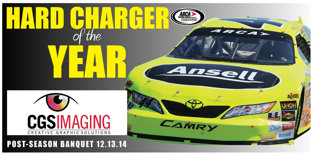 Kimmel to accept CGS Imaging Hard Charger award at ARCA banquet