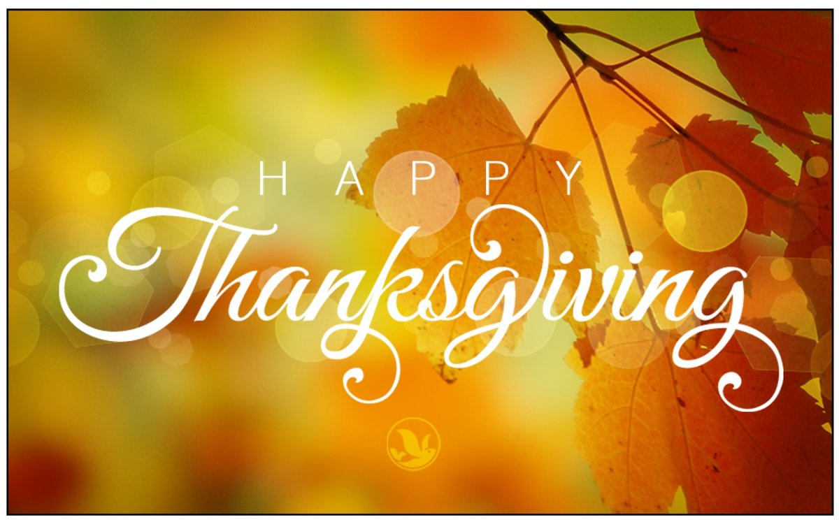 Enjoy your Thanksgiving holiday, from the ARCA family