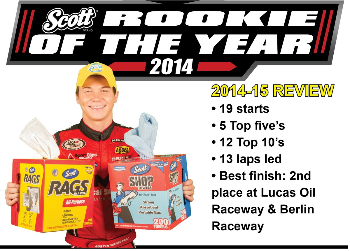 Austin Wayne Self officially awarded SCOTT Rookie of the Year honor