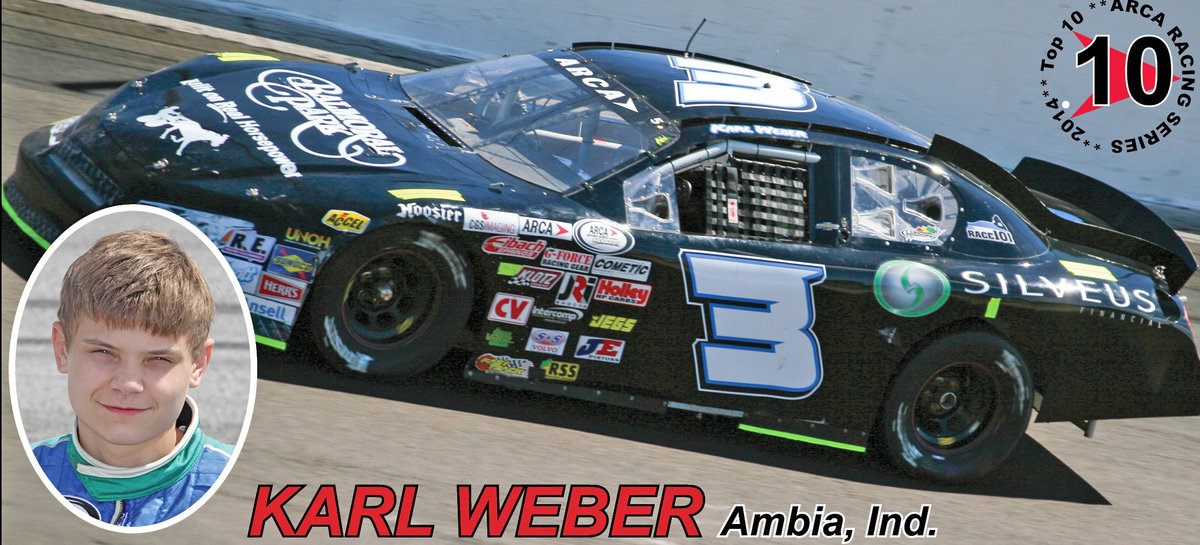 VIDEO: Countdown to '15...ARCA salutes Karl Weber