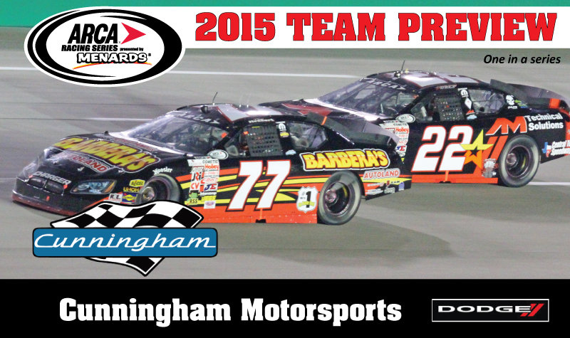 Cunningham Motorsports celebrating 20 seasons of excellence in ARCA