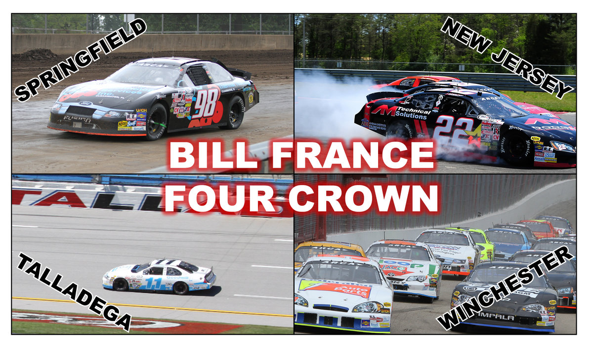 ARCA's Bill France Four Crown championship set for 2015