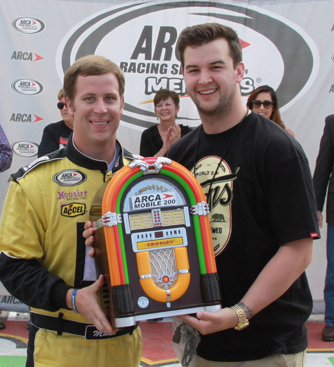 McCarron to be grand marshal; entertainment lined up for ARCA Mobile 200