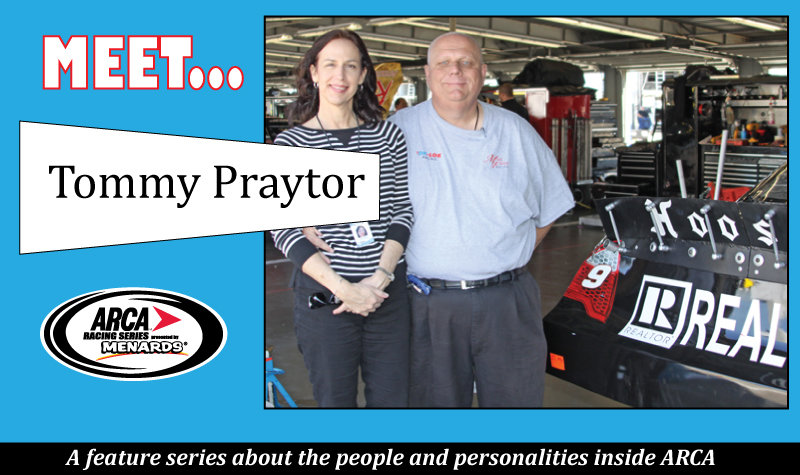 It's a full-time, family affair for ARCA Mobile 200 promoter Praytor