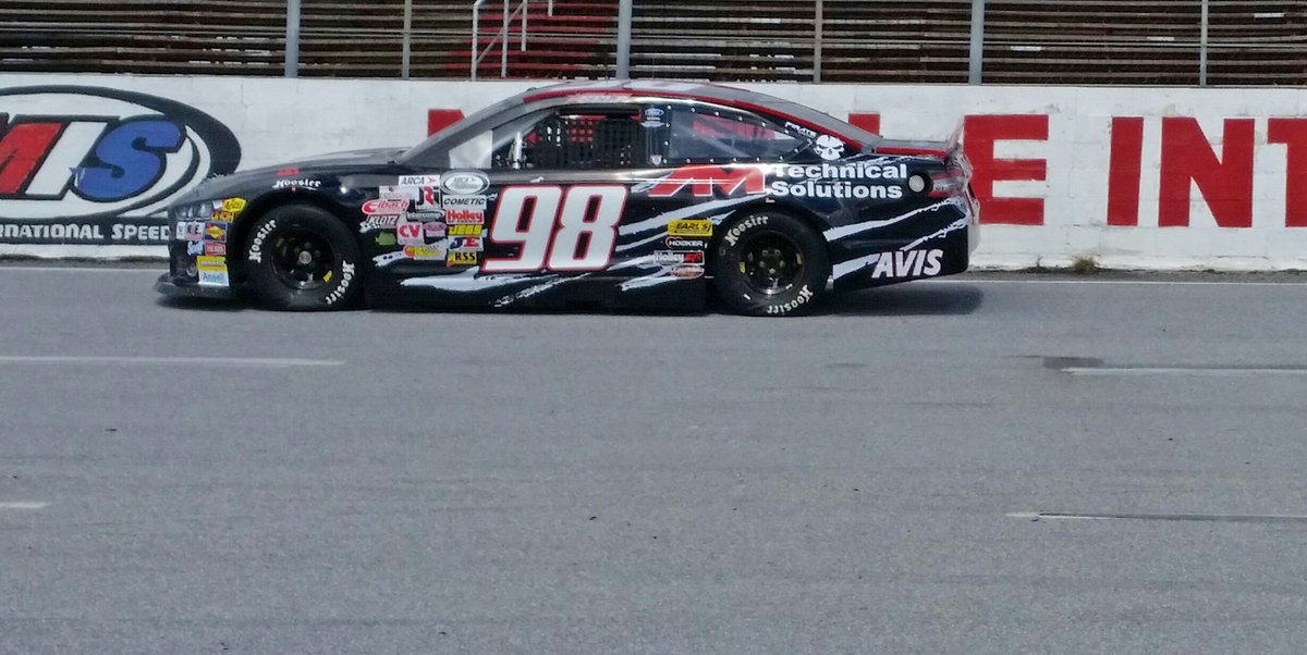 Mason Mitchell Motorsports tests new ARCA Composite Body car at Mobile