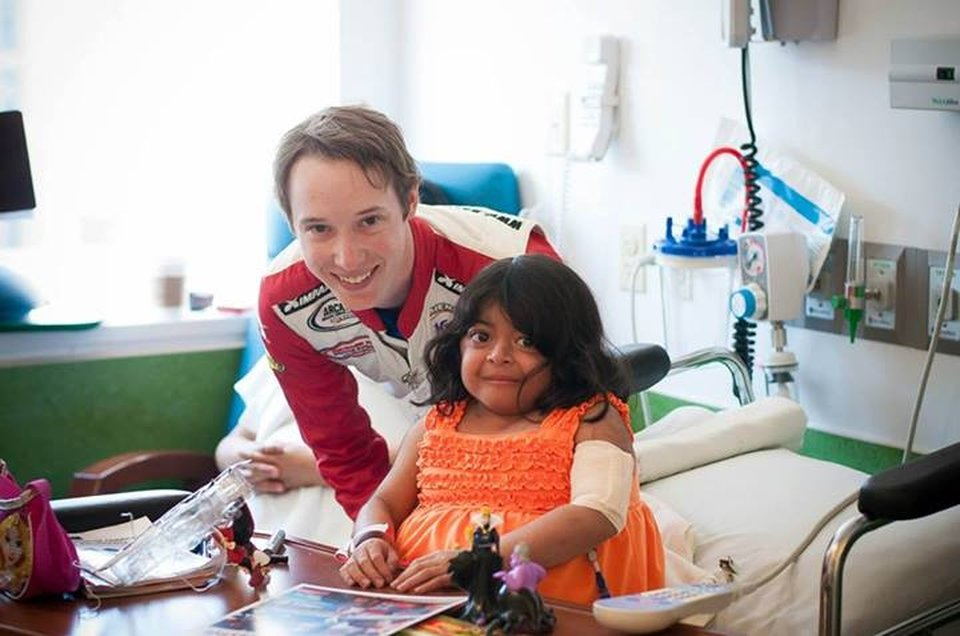 ARCA driver David Levine plans visit with kids At USA Children's Hospital in Mobile