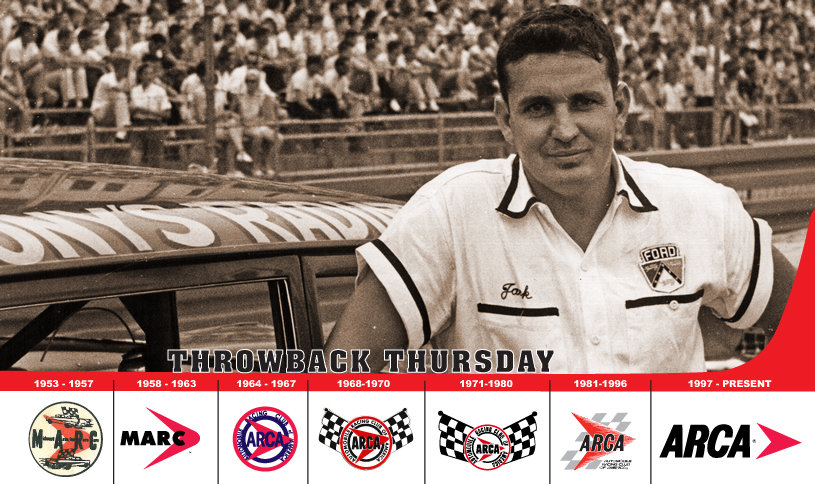 Remembering the amazing Jack Bowsher...3-time Nashville winner...3-time ARCA champ