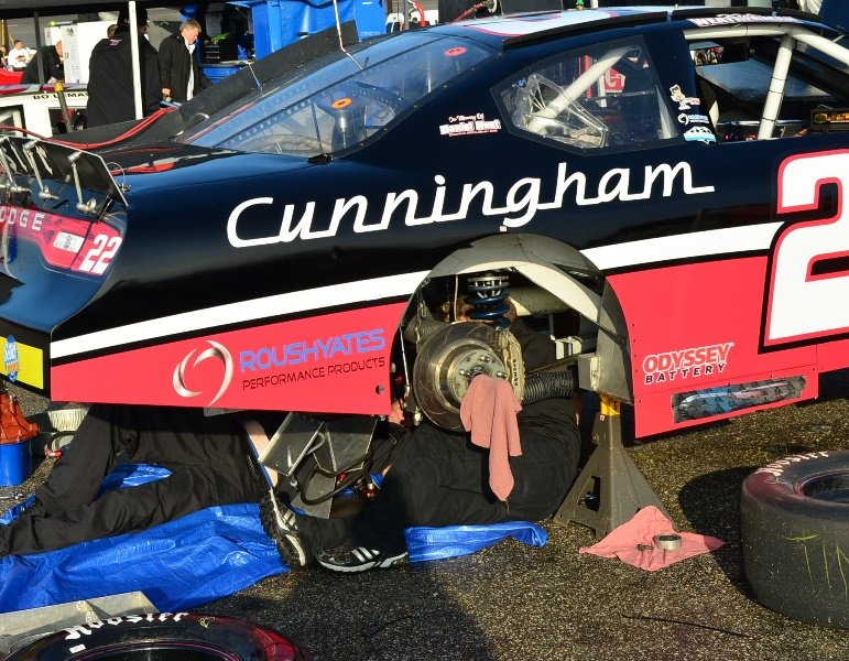 Cunningham cars prepare for Nashville return