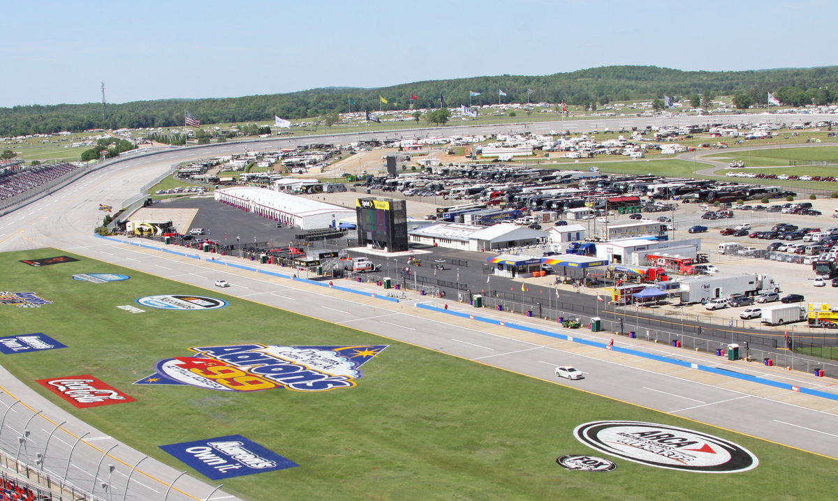 Talladega open testing Wednesday, Live timing & scoring, live chat at ARCAracing.com