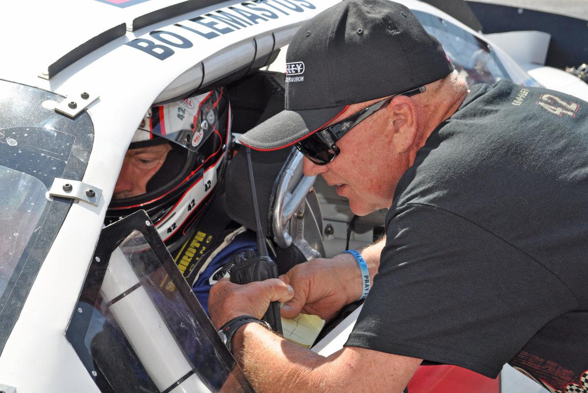 Bodine coaches LeMastus to top of speed charts in Talladega testing
