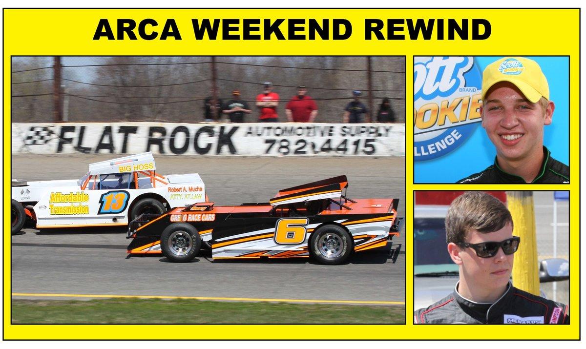ARCA winners Benjamin, Jones make news; Flat Rock has big turnout for practice