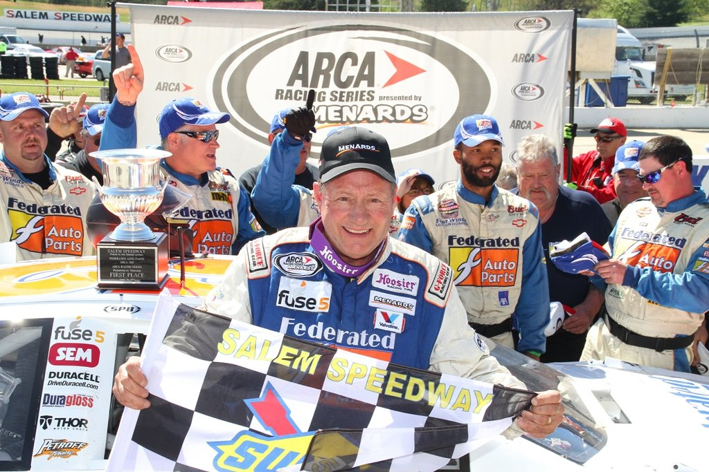 Schrader earns 18th career ARCA win with victory at Salem Speedway