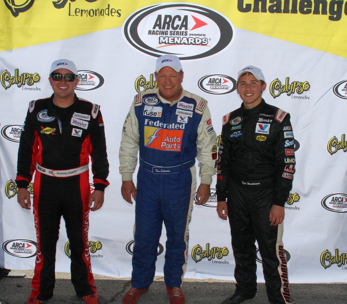 Three drivers share lead in Calypso Lemonades Short Track Challenge standings