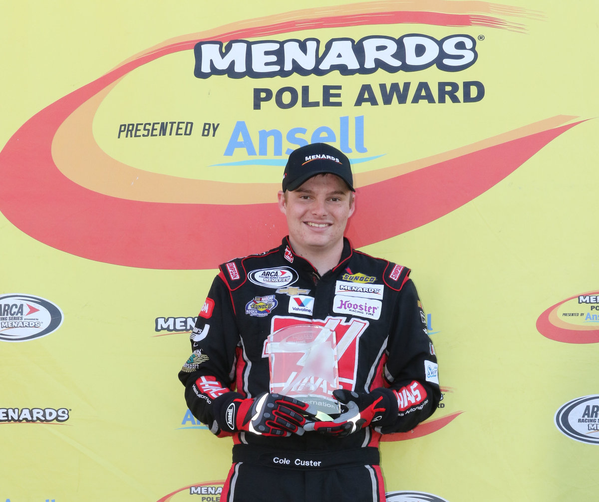 Custer wins Menards Pole Award at NJMP