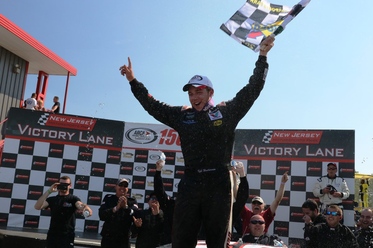 Weatherman takes first win in road course debut