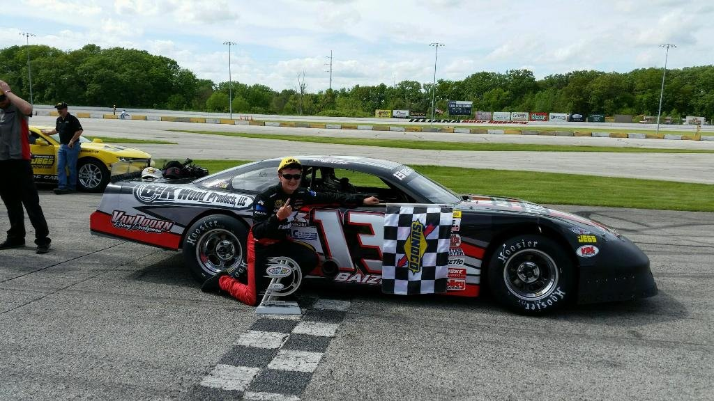 Baize takes ARCA/CRA Super Series 50 lap feature