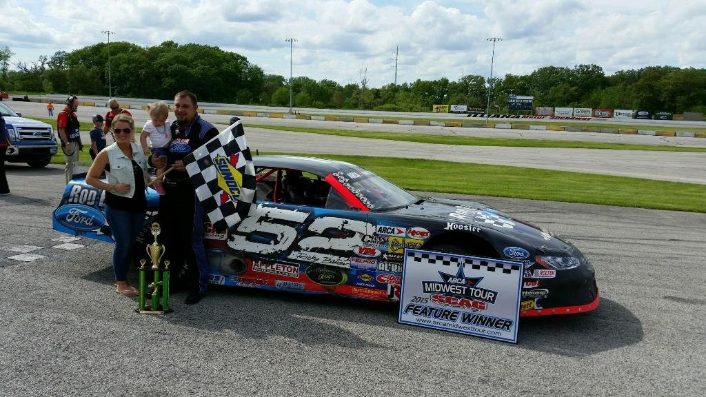 Baker wins first ARCA Midwest Tour event