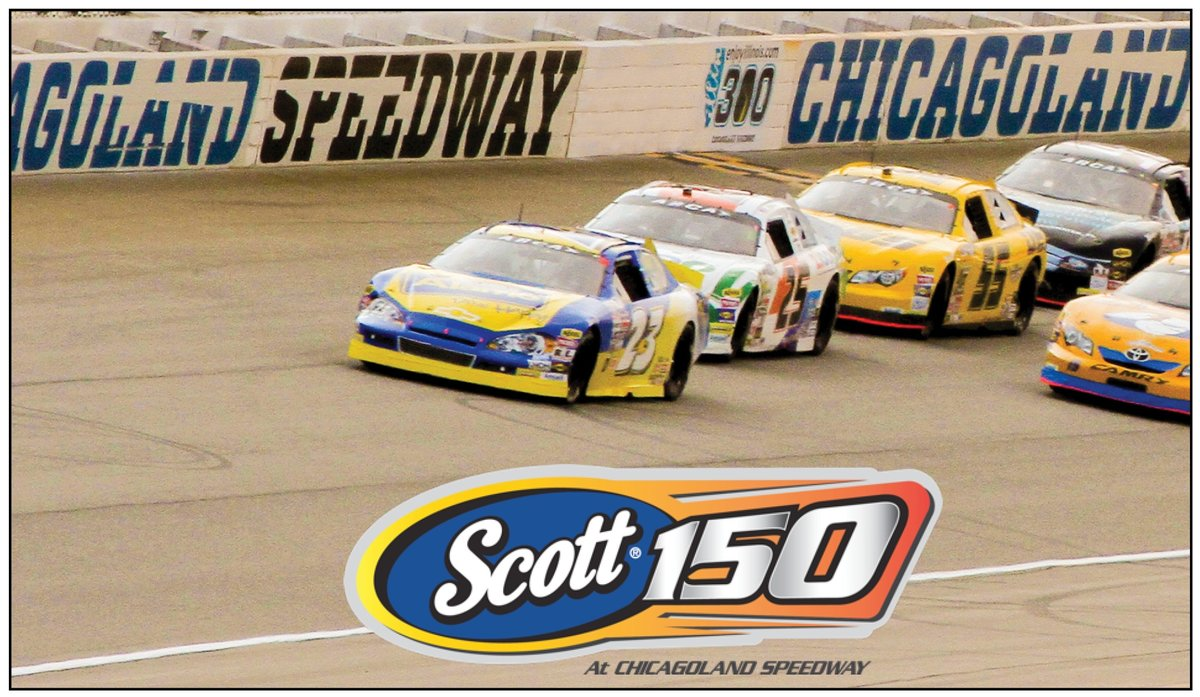 ARCA race at Chicagoland Speedway to be the SCOTT 150