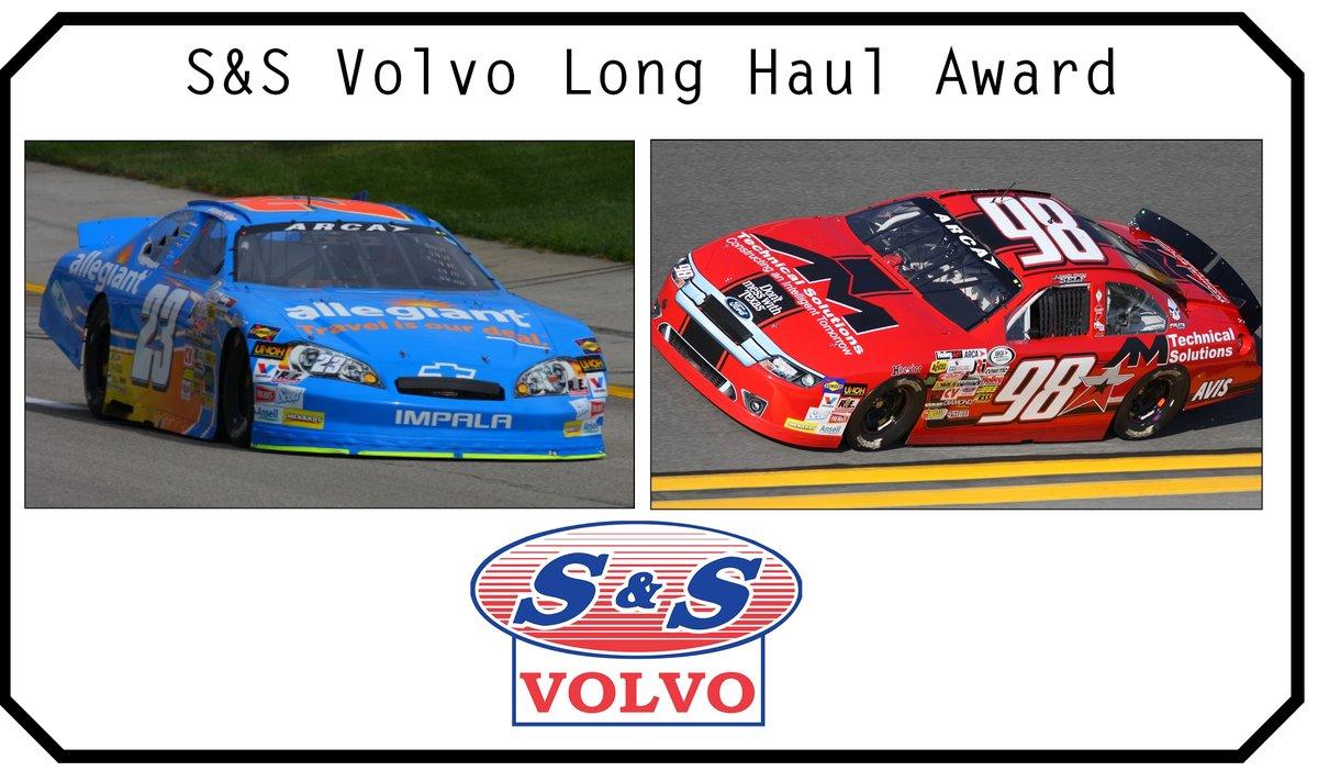 Self, Enfinger leading S&S Volvo Long Haul Award standings heading to Kansas