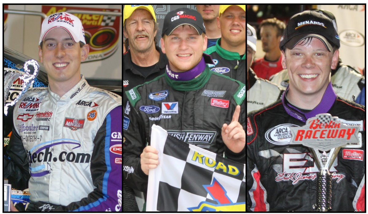 Three NASCAR champs have 14 ARCA wins among them