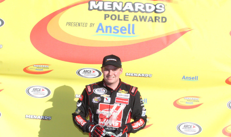 Cole Custer, youngest ARCA pole winner in Daytona history