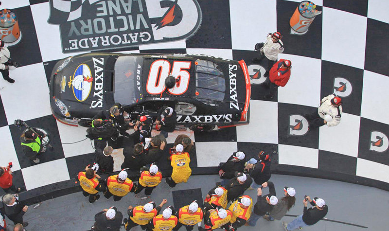 Secret weapons help Townley to Victory Lane at Daytona