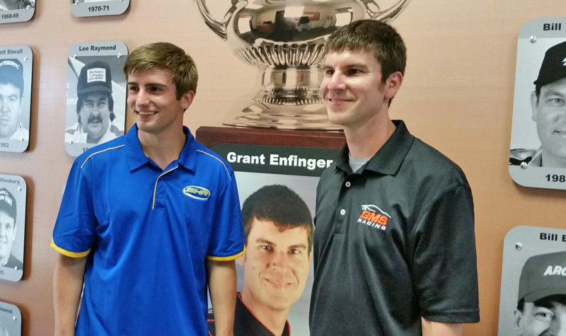 Enfinger officially inducted onto ARCA Wall of Fame at Talladega