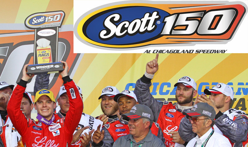 Kimberly Clark renews ARCA race sponsorship of SCOTT® 150 at Chicagoland Speedway